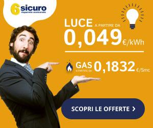 promozione offerte Luce e Gas – attivazione, subentro e voltura