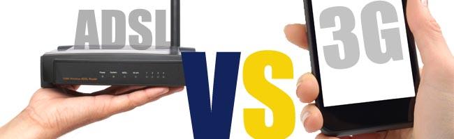 ADSL vs 3G