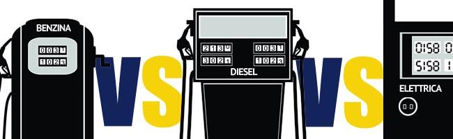 Benzina, elettrica o diesel?