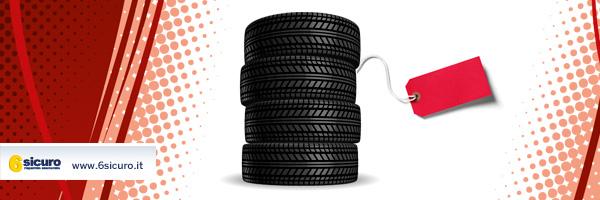etichette dei pneumatici