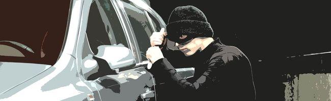 macchina rubata