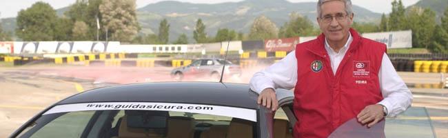 Sicurezza al volante: i consigli di Andrea De Adamich