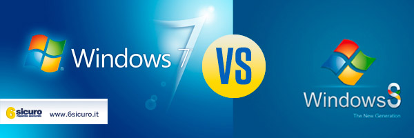 Windowd 7 VS Windows 8