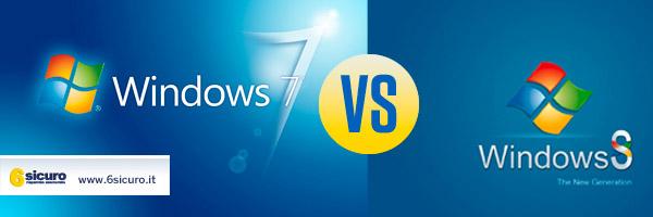 Windowd 7 VS Windows 8