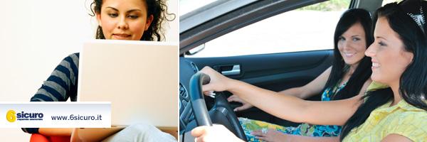 polizza auto online donne