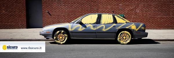 Atti vandalici auto