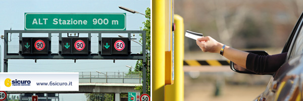 Pedaggio autostradale: sconto per i pendolari