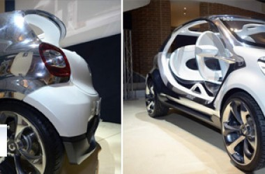 Smart Fourjoy, il futuro dell'auto è già realtà