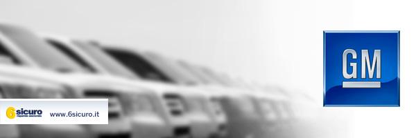 GM nella bufera: richiama 1,5 milioni di auto