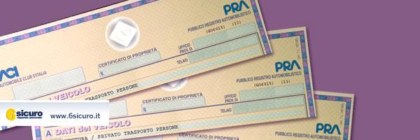 Certificato di proprietà perso o rubato? Ecco cosa fare