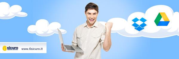 Dropbox e Google Drive: l'ufficio diventa cloud