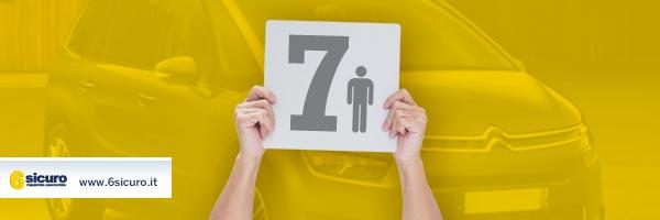 Le migliori auto del 2015 omologate 7 posti