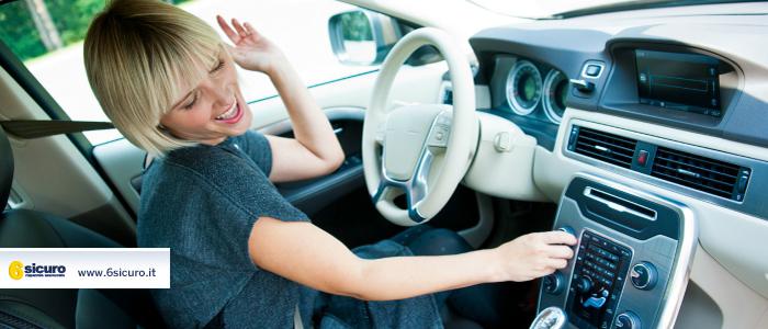 canzoni da ascoltare in auto
