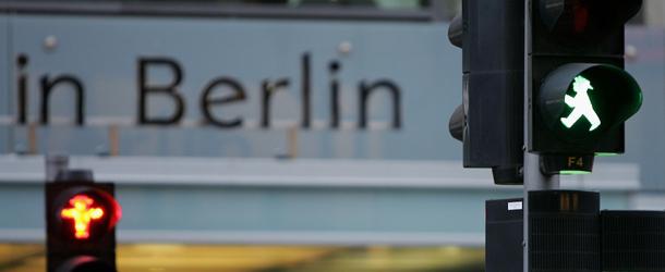 semaforo verde Berlino