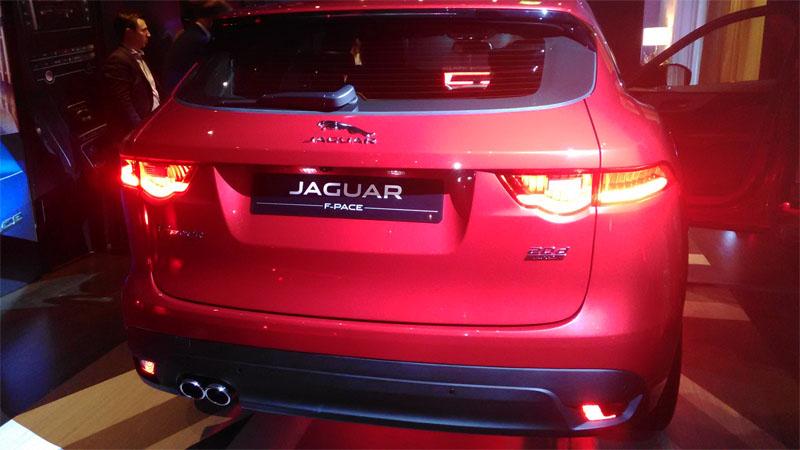 Jaguar F-Pace Posteriore