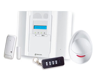 Kit Allarme Wireless Via Radio Bentel Security BW64-K