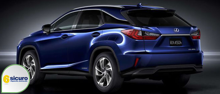 lexus rx hybrid 2016 allestimenti prezzo e motorizzazioni. Black Bedroom Furniture Sets. Home Design Ideas