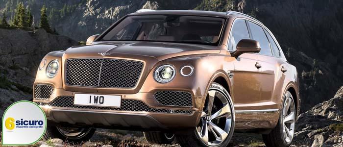 Bentley Bentayga prezzi