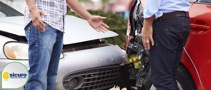 incidente senza feriti