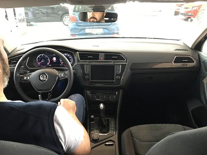 volkswagen tiguan interno