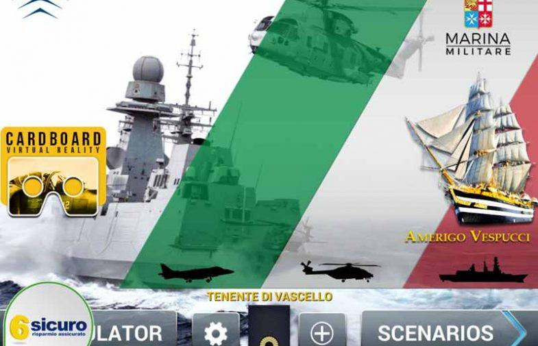 Marina Militare – Italian Navy Sim: primo simulatore integrato aeronavale
