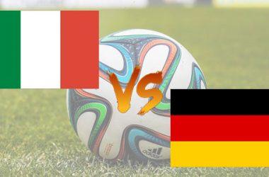 Italia-Germania: diretta TV, streaming, formazioni e pronostico