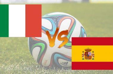 Italia-Spagna: diretta TV e streaming