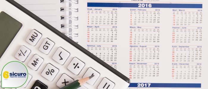 calendario fiscale