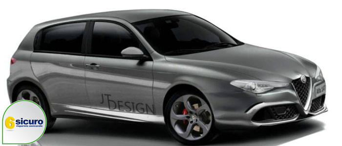 alfa romeo 147 jt design