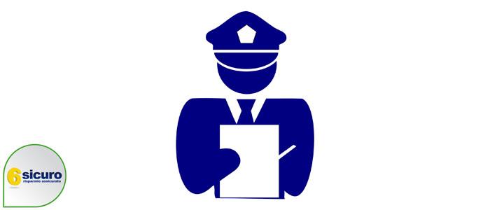 ingiuria vigile poliziotto