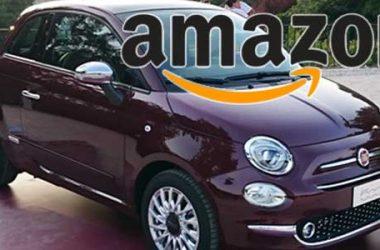 Fiat e Amazon: le automobili si acquistano in rete
