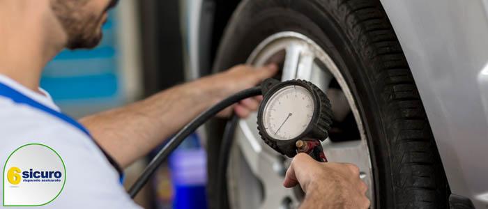 gonfiaggio pneumatici azoto