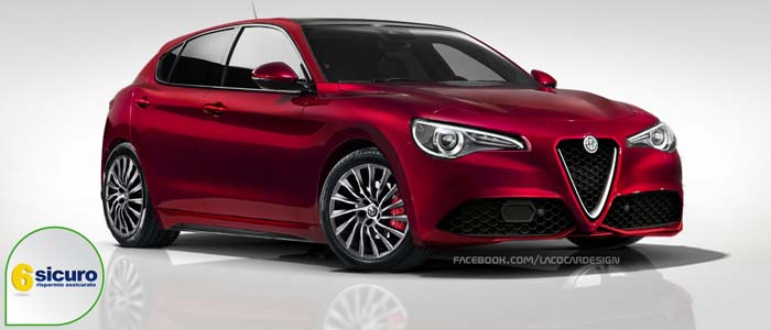 alfa romeo giulietta my 2018 un nuovo render online. Black Bedroom Furniture Sets. Home Design Ideas