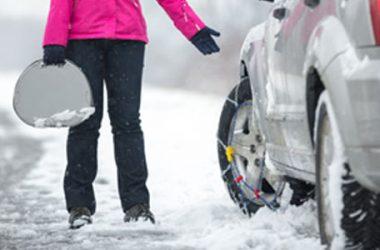 Come montare le catene da neve: la guida