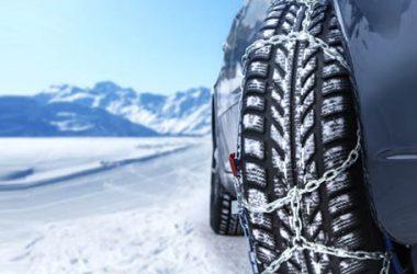 Catene da neve: obbligo, prezzi e come montarle