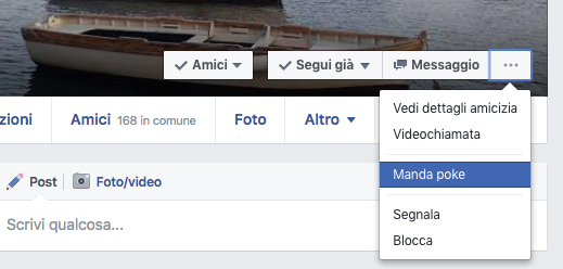 Come mandare un Poke Facebook?