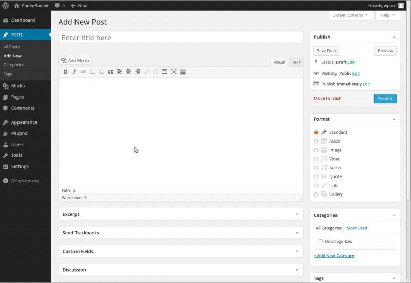 cos'è un blog wordpress