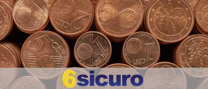 monete da 1 2 centesimi