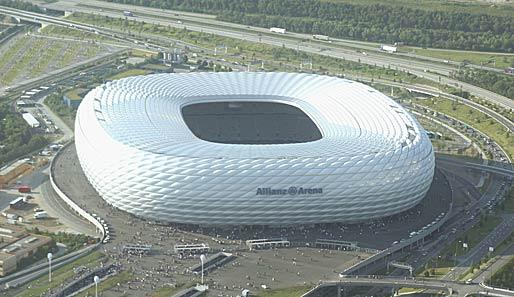 L'Allianz Arena di Monaco di Baveria