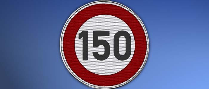 limite 150 km