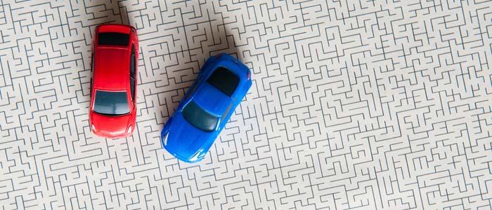 parcheggio in doppia fila