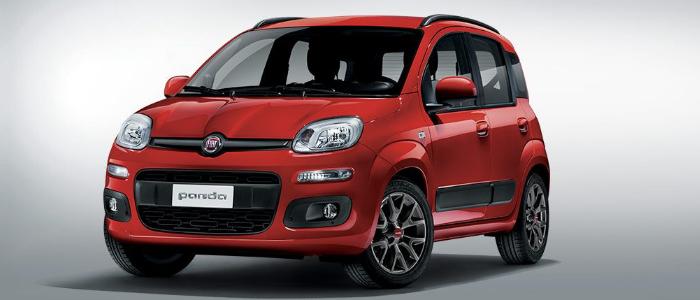 La Panda. L'auto più venduta in Italia nel 2017.