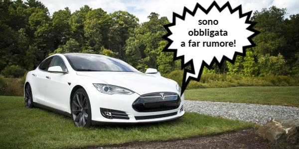 electric car noise obligation