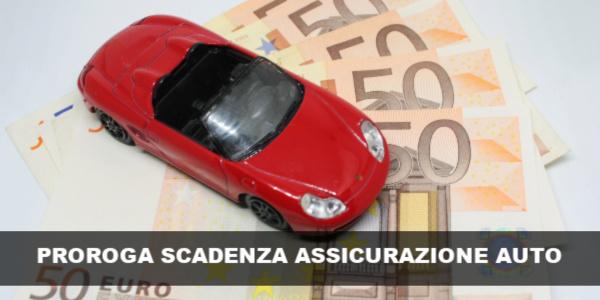 proroga scadenza assicurazione auto