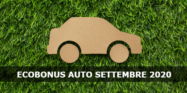 ecobonus auto settembre 2020