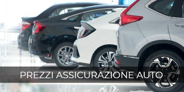 prezzi assicurazione auto