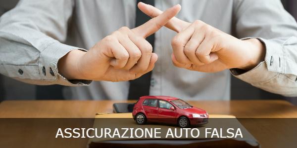 assicurazione auto falsa