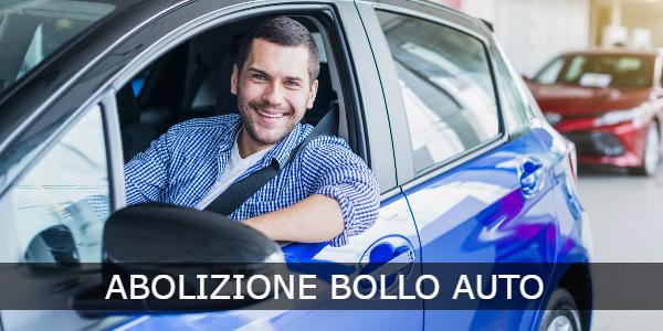 abolizione bollo auto 2021