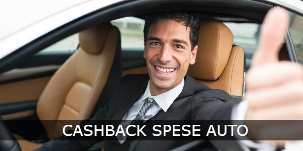 cashback spese auto