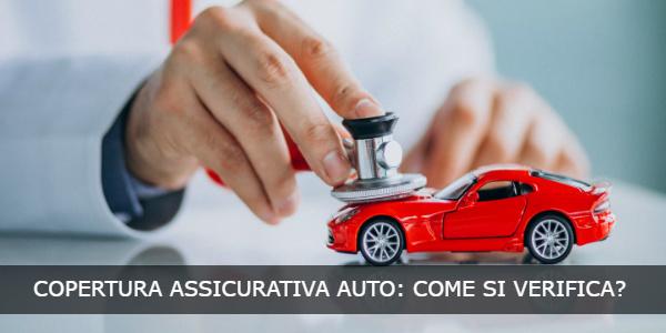 copertura assicurazione auto come si verifica